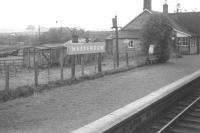 Passing through Happendon, South Lanarkshire, in 1964, the year the station closed.<br><br>[Colin Miller&nbsp;//1964]
