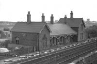 A photograph taken in August 1970 showing the station originally opened as Wath in 1851, renamed Wath-on-Dearne in 1907 and closed to passengers as Wath Central in 1959. The station was located between Wath Yard and Mexborough and had been served by Doncaster - Barnsley trains. The line continued in use for freight traffic until 1988 with the buildings eventually being demolished as part of a road improvement scheme in 2004.  <br><br>[Bill Jamieson&nbsp;17/08/1970]