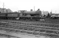 Pickersgill 3P 4-4-0 no 54508 stands on Kingmoor shed on 5 July 1958. The locomotive was withdrawn from Stranraer the following year.<br><br>[Robin Barbour Collection (Courtesy Bruce McCartney)&nbsp;05/07/1958]