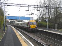334 020 with a Dalmuir service at Drumry on 24 April 2010<br><br>[David Panton&nbsp;24/04/2010]