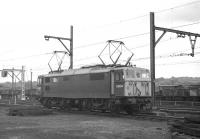 Class EM1 electric locomotive no E26014 at Wath shed on Monday 17th August 1970.<br> <br><br>[Bill Jamieson&nbsp;17/08/1970]