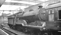 Robinson ex-GC D11 4-4-0 no 62662 <I>Prince of Wales</I> with empty stock at Sheffield Victoria in the 1960s. <br><br>[K A Gray&nbsp;//]