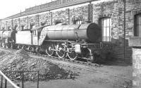 St Margarets V2 2-6-2 no 60900 in a sorry state on Canal shed, Carlisle (12C), thought to be in early 1963. The V2 is recorded as having been withdrawn in April of that year.<br><br>[K A Gray //1963]