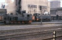 Part of the Alsdorf coal and steel complex near Aachen, West Germany in August 1978. They had a fleet of these shunters, many lurked in odd sidings around the plant and took some finding. Anna 2 & 3 stand in the works sidings in August 1978.<br><br>[Peter Todd&nbsp;/08/1978]