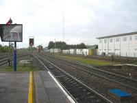 Looking south from the platforms of Banbury station on 8th May 2010. <br><br>[Michael Gibb&nbsp;08/05/2010]