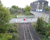 A brash claim was made [see image 28924] that nobody used the footbridge at Seafield, so in an effort to prove myself wrong here is a picture taken from said footbridge on 17 May, looking east towards the level crossing and the junction at Portobello.<br><br>[David Panton&nbsp;17/05/2010]