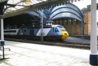 With just over 200 miles of its 581 mile journey completed the East Coast 1200 London Kings Cross - Inverness <I>Highland Chieftain</I> prepares to leave York platform 5 on 21 March 2010 on the next leg of its journey.<br> <br><br>[John Furnevel&nbsp;/03/2010]