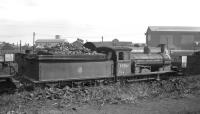 J21 no 65061 on shed at Heaton around 1960.<br><br>[K A Gray&nbsp;//1960]