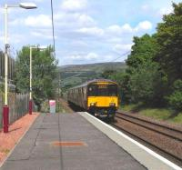 318 258 aproaches West Kilbride on 3 June with a Largs - Glasgow Central service.<br><br>[David Panton&nbsp;03/06/2010]
