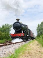 3717 en route�to Mouldon Hill on the newly extended line of the Swindon & Cricklade Railway during a gala day on 12 June 2010.<br> <br><br>[Peter Todd&nbsp;12/06/2010]