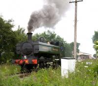 4612 manoeuvering at Hayes Knoll shed on 19 June during a Swindon & Cricklade Railway Gala day.<br><br>[Peter Todd&nbsp;19/06/2010]