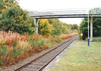 Platform view south at Alness station in September 2009. [See image 29586]<br><br>[Ewan Crawford&nbsp;28/09/2009]