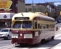 Ignore the destination board. This is a reconditioned 1951 Toronto Transit Commission streetcar which was out for a local festival on St Claire West, Toronto on 20 June 2010.<br><br>[Brian Smith&nbsp;20/06/2010]
