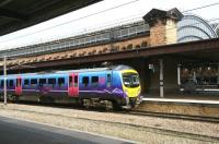 An afternoon Middlesbrough - Manchester Airport service calls at York on 21 March.<br><br>[John Furnevel&nbsp;21/03/2010]