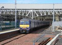 322 481 pulls out of Platform 3 (probably Waverley's least used) on 12 July with the 1000 for Dunbar only.� As far as I know this train and its return journey are ScotRail's only non-stop services. <br> <br><br>[David Panton&nbsp;12/07/2010]