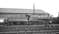 Churchward 2-8-0 no 3820 stands on Chester (West) shed in 1960.<br><br>[K A Gray&nbsp;//1960]