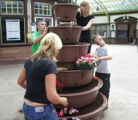 Planting - Wemyss Bay - 30 June 2010 [See FoWB news item]<br><br>[Friends of Wemyss Bay&nbsp;30/06/2010]