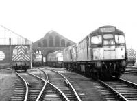 View north in the shed yard at Ayr in June 1970.<br><br>[John Furnevel&nbsp;19/06/1970]
