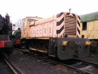 Shunter at Chapel Brampton.<br><br>[Bob Ellis&nbsp;//]