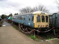 DMU at Chapel Brampton.<br><br>[Bob Ellis&nbsp;//]