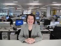 Network Rail's IT Director Catherine Doran. Recently voted <I>UKs most influential technology leader</I> by some of Britain's largest companies. June 2009.<br><br>[Network Rail&nbsp;/06/2009]