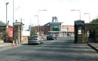 Constitution Street entrance to Leith Docks (and Casino!), 2004.<br><br>[John Furnevel&nbsp;25/04/2004]