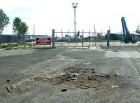 Southwest entrance to Leith docks, 2004.<br><br>[John Furnevel&nbsp;25/04/2004]