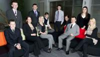 Participants in the successful ScotRail apprentices scheme. The scheme itself has recently been recognised by way of a national award [see news item].<br><br>[First ScotRail&nbsp;/12/2011]