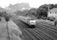 47272 on the down Forth Bridge line approaching Saughton Junction in May 1982.<br><br>[John Furnevel&nbsp;19/05/1982]