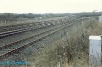 Thornton Junction looking south.<br><br>[Ewan Crawford&nbsp;//1988]