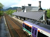 View north over Dunkeld station in May 2003.<br><br>[John Furnevel&nbsp;29/05/2003]