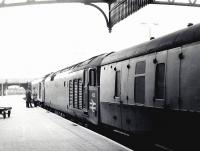 <I>'OK let's give it a go!'</I> Conference session 2 - Perth Station, 25 May 1970 [see image 2963]. (It finally left 22 minutes late).<br><br>[John Furnevel&nbsp;25/05/1970]