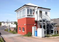 Cupar signal box in May 2005.<br><br>[John Furnevel&nbsp;22/05/2005]