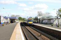 A northbound train calls at Kirkcaldy in May 2005. There is a distinctly spacious feel about this station... at least during the quieter periods!<br><br>[John Furnevel&nbsp;18/05/2005]