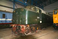 The original EE Type 4 no D200, photographed at the National Railway Museum, York, in March 2010.<br><br>[John Furnevel&nbsp;25/03/2010]