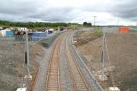 The view west from the road bridge at Armadale on 27 July 2010. Quite a change since the project got underway [see image 26594]. <br><br>[John Furnevel 27/07/2010]