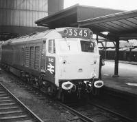 D412 stands at Carlisle in 1968 not long after coming off the production line at the Vulcan Foundry.<br><br>[Jim Peebles&nbsp;//1968]