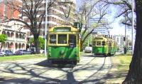 'W' Class trams, built 1936 to 1956, in various sub-classes, seen operating in Melbourne in October 2008.<br><br>[Colin Miller&nbsp;09/10/2008]