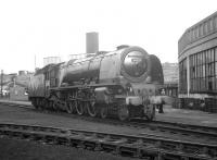 46225 <I>Duchess of Gloucester</I> photographed in the yard at Carlisle Upperby shed on 7 March 1964.<br><br>[K A Gray&nbsp;07/03/1964]