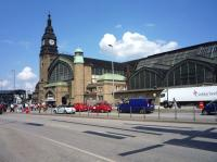 One of several entrances to Hamburg Station, photographed in July 2010.<br><br>[John Steven&nbsp;/07/2010]