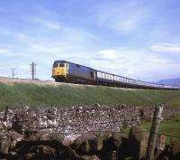 Train 1S57 the down <I>Royal Scot</I> seen climbing Shap at Shap Wells in 1969.<br><br>[Jim Peebles&nbsp;//1969]