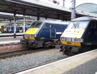 Lineup at the west end of Newcastle Central on 18 August 2010.<br><br>[Colin Alexander&nbsp;18/08/2010]