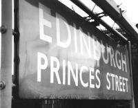Princes Street 1965.<br><br>[Jim Peebles&nbsp;//1965]