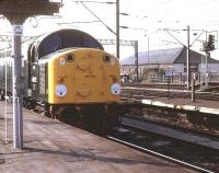 40122 stands at the south end of Carlisle station in September 1983.<br><br>[Jim Peebles&nbsp;/09/1983]