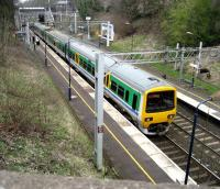 323207 calls at Hampton-in-Arden on 24 March 2007 with a service for Birmingham New Street.<br><br>[John McIntyre&nbsp;24/03/2007]