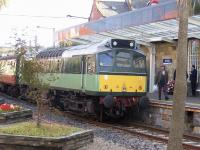D7628 shortly after arrival at Whitby on 18 September with a train from Pickering.<br><br>[Colin Alexander&nbsp;18/09/2010]