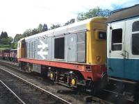 20227 stands with a train at Goathland on 18 September 2010.<br><br>[Colin Alexander&nbsp;18/09/2010]