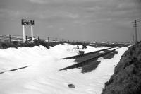 Dava Summit seen in April of 1968 with the rails still in place 3 years after closure.<br><br>[David Spaven&nbsp;/04/1968]
