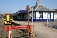 End of the line at Kyle of Lochalsh on the 30th of March 2007.<br><br>[Ian Dinmore&nbsp;30/03/2007]