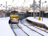 90002 at a snowy Norwich on the 7th of January 2010.<br><br>[Ian Dinmore&nbsp;07/01/2010]